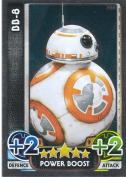Disney Star Wars Force Attax The Force Awakens Mirror Foil BB-8 Trading Card