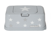 Funky Box Funkybox Gris Etoile - Argent