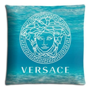 "home pillow cases protector covers [ Polyester - Cotton ] Hidden zipper invisible zipper 20x30 20""x30"" 50x76cm versace famous top.brand logo"