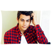 Simple & Easy Custom Dylan O'Brien Print Rectangle Standard Size Pillow Case Twin Side XZ-539