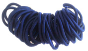 Allsorts® 36 Navy Endless Elastics Hair Bobbles Elastic Bands Hair Accessory