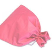 JODA Pretty Pink Plain Drawstring Wash Bag