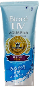 Biore KAO JAPAN AQUA RICH Sarasara SPF50+ PA++++ NEW 2015 50g Sunscreen