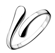 Numeis Women's 925 Sterling Silver Adjustable Rings with Easy to open