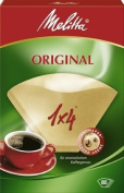 Melitta Four Cup Coffee Filter Paper Brown Pack of 80