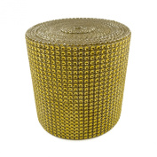 Diamond Mesh Wrap Roll Rhinestone Crystal Ribbon 11cm x 10 yards