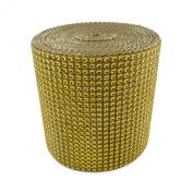 Diamond Mesh Wrap Roll Rhinestone Crystal Ribbon 11cm x 10 yards