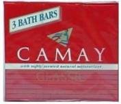 Camay Bath Bars Classic - 3 CT
