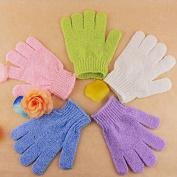 New Massager Exfoliating Gloves Bath Shower SPA Skin Body Scrubber Mitt Clean
