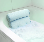 Home Spa Bath Pillow Bathtub Hot Tub Neck Back Rest Travel Foam Pillow Sauna