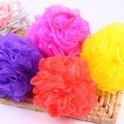 Bath Body Shower Exfoliate Puff Sponge Nylon Mesh Net Ball