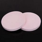 QINF 1Pcs Round Pink Cleansing Sponge