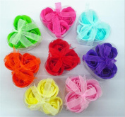 GAMT 4PCS/LOT Creative Valentine's Day Gift Soap Flower PVC Boxed Roses