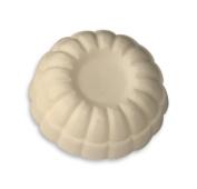 White Flower Shaped Soap Bar, Grape Scented, Dr. Melumad - Dead Sea Cosmetics, Vegan, 45ml/45g, Cake Shape