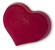 Red Heart Shaped Soap Bar, Nuts Scented, Dr. Melumad - Dead Sea Cosmetics, Vegan, 50ml, 50g