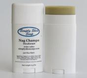 Natural Aluminium Free Deodorant (Nag Champa) 2 Pack