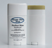 Natural Aluminium Free Deodorant (Perfect Man) 2 Pack