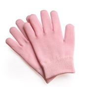 TheWin Moisturising Silicone Gel Heel Protectors Gloves, Pink