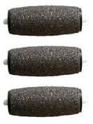 Pamperped Professional Grade Extra Coarse Replacement Refill Roller Heads - 3 Pack