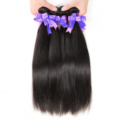 36cm 41cm 46cm Inches Malaysian Straight Hair 100% Real Human Hair Extension Natural Black Virgin Straight Hair