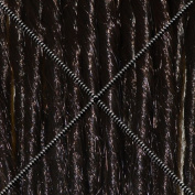 Doctored Locks Premade Synthetic Dreadlocks - Double Ended Hair Extensions - Darkest Brown/Dark Brown