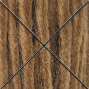 Doctored Locks Premade Synthetic Dreadlocks - Double Ended Hair Extensions - Strawberry Blonde/Medium Chesnut Brown