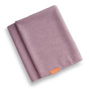 Aquis Long Hair Towel Lisse Luxe 48cm X 130cm - Desert Rose