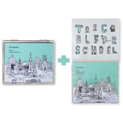 [Too Cool for School] Dinoplatz Dear Brachiosaurus 50P Oil Blotting Paper + 50P Refill