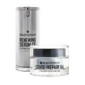 Beauty & Truth Age Restoring Bundle - Erase Repair HA & Renewing Serum CE