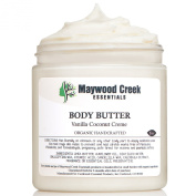 Stretch Mark and Scar Butter 240ml ORGANIC! Don't Put Chemicals On Your BABY! Body & Belly Butter Stretch Removal Mark & Scar Cream for Women & Men - Best Natural Creams for Removing Stretch Marks Due to Pregnancy & Weight Gain - Safe for Pregnant Moms
