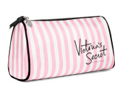 VICTORIA 'S SECRET Makeup Bag Pink & White Stripes