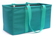 "MDM Large Utility Tote Bag, Organiser, Laundry Bag ""Teal & Green"""