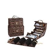 Joy Biggest Better Organise-It-All Beauty Case Set - Leopard