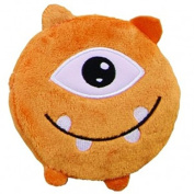 Spa Comforts Mommy's Kisses, Reusable Childrens Hot and Cold Pack Orange Monster