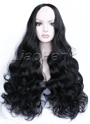 Liaohan® Fashion Black Wig Long Curly Black Hair Wig Natural Full Head Cosplay Wig for Women