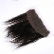Cupidlovehair Silky Straight 13x 4 Brazilian Virgin Remy Human Hair Lace Frontal Closure Unprocessed Natural Black Colour