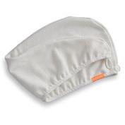 Aquis Hair Turban Lisse Luxe 25cm X 80cm - White