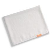 Aquis Long Hair Towel Lisse Luxe 48cm X 130cm - White