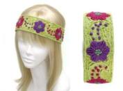 Uni-k Hand Embroidery Flower Pattern Headband Selection