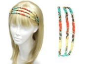 Uni-k Beaed Three Layer Head Band Selection