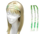 Uni-k Beaed Three Layer Head Band Selection
