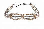 Fashion Women Beads Rhinestone Head Chain