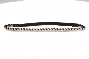 Fashion Beautiful Personality Combination of Metal and Crystal Rhinestone Beads Hair Hairband