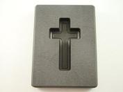 90ml Custom Cross Gold High Density Graphite Mould 30ml Silver Necklace 2.5cm - 1.7cm