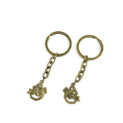 1 PCS Keyrings Keychains Key Ring Chains Tags Jewellery Findings Clasps Buckles Supplies P9MT7 Scorpio Scorpion