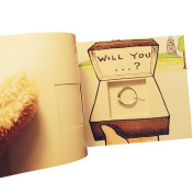 OLizee™ Creative Funny Flip Book Kit for Propose Valentine's Day Hide Your Ring