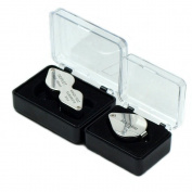 Two jeweller Loupes 10x-20x Triplet & 30x21mm Magnifying Glass w/ storage cases