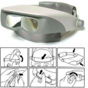 Bausch & Lomb Magna Visor Head Magnifier Jewellers Magnifying Tool 814200