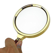 "90mm/3.6"" Handheld 10X Magnifier Magnifying Glass Loupe Reading Jewellery"