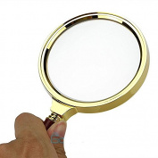 """90mm/3.6"""" Handheld 10X Magnifier Magnifying Glass Loupe Reading Jewellery"""
